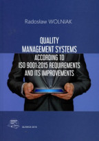 Quality management systems according to ISO 9001:2015 requirements and its improvements.