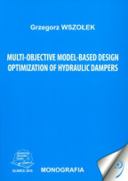 Multi-objective model-based design optimization of hydraulic dampers.